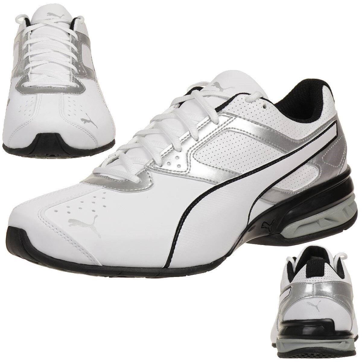 Puma Tazon 6 Fm Baskets Hommes Chaussures de Course 189873 01 Blanc
