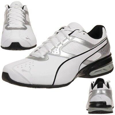 Puma Tazon 6 Fm Baskets Hommes Chaussures de Course 189873 01 Blanc   eBay