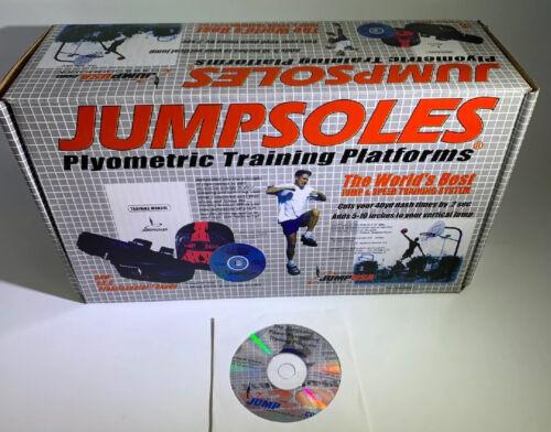 11-14-1//2 NEW JUMPSOLES Plyometric Training Platforms LARGE Mens