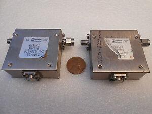 Harris Farinon Ferrits Isolator A43542 620 820 Mhz Ebay