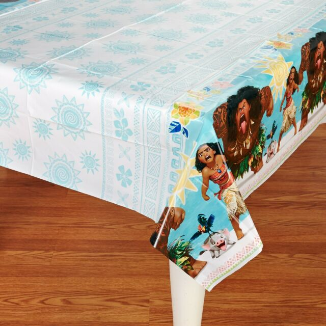 DISNEY MOANA PLASTIC TABLECOVER BIRTHDAY PARTY SUPPLIES TABLECLOTH