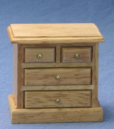 Dollhouse Miniatures 1:12 Scale Oak Night Stand #CLA10524