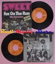 LP 45 7'' SWEET Fox on the run Miss demeanor 1975 germany RCA (*) no cd mc dvd