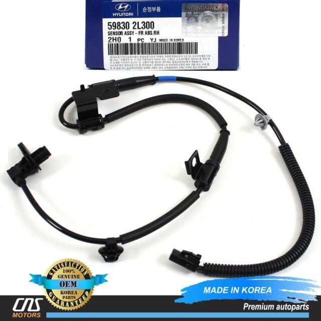 Genuine Front Right ABS Speed Sensor for Hyundai Elantra 07-12 OEM 59830 2L300