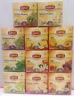 LIPTON TEA - 20 PYRAMID BAGS - SEALED BOX- REAL FRUITS TEA (DIFFERRENT FLAVOURS)