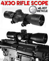Trinity Supply 4x30 Scope Fits Tiberius Arms Rifles