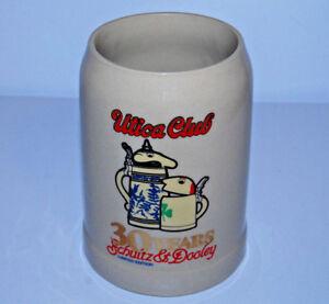 Utica Club Schultz Dooley stein 30 year anniversary Gerz .5L beer mug W Germany