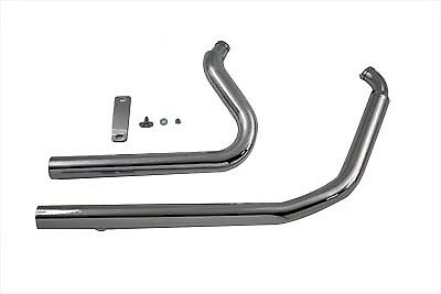 V-Twin 30-0551 Exhaust Drag Pipe Set Straight Cut