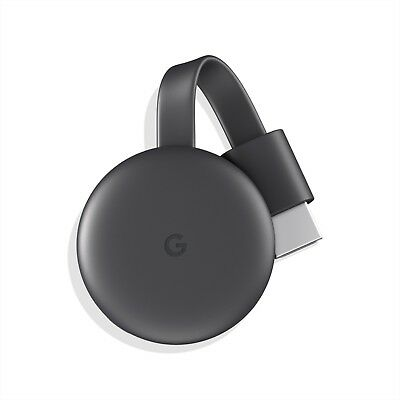 Google Chromecast (3rd Generation) Media Streamer - Black