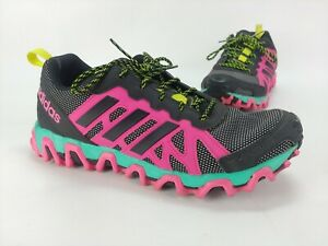novedad completar Ojalá  Adidas Adiprene Adiwear Traxion 8.5 pink black green cross fit running  Shoes | eBay