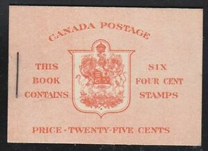 Canada-1943-Booklet-36d-War-Issue