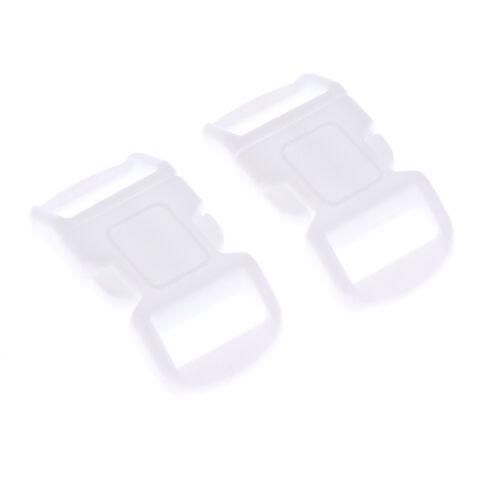 20 Stück Klickverschluss Klippverschluss aus Kunststoff für