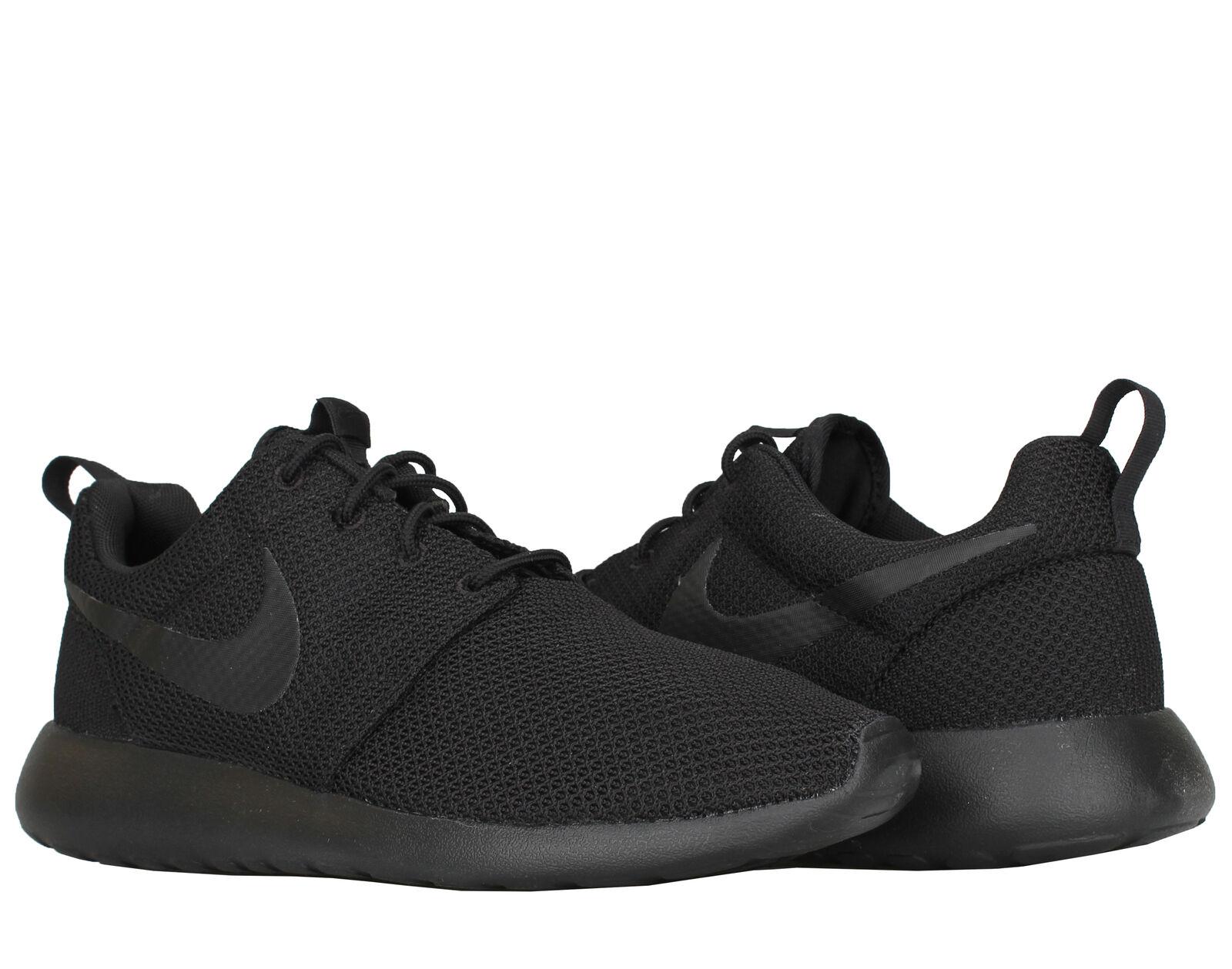 Nike Roshe One Black/Black Men's Running Shoes 511881-026