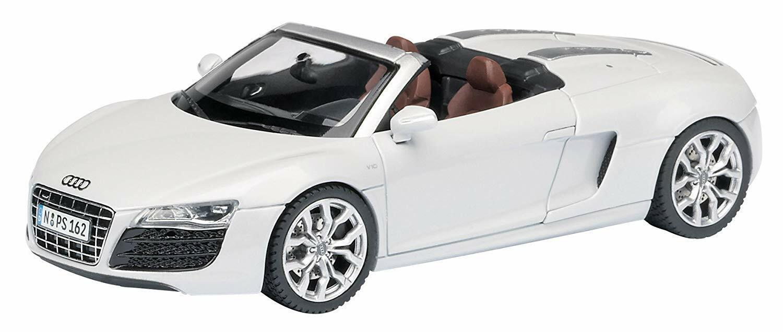 Schuco 450739100 - Audi R8 Spyder - Suzukagrey - 1 of 1000 Pcs Ovp - 1 43