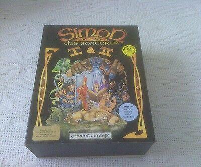Very Rare Simon the Sorcerer I and II Big Box Adventure Game - Sorry No T shirt