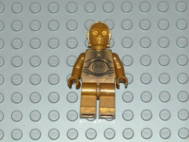 Lego Star Wars Pearl Gold C-3PO Minifig NEW
