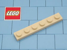 Lego 3666 1x6 Plate Tan X 6 **Brand New Lego**