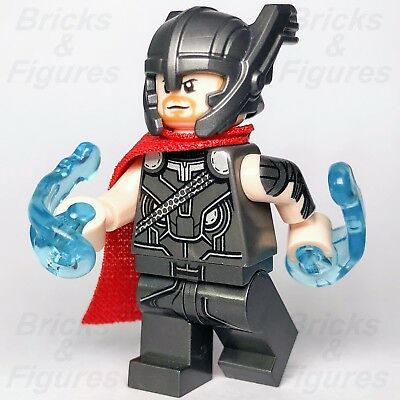 "Thor w// Red Cape NEW LEGO Helmet Marvel Super Heroes /""Thor Ragnarok/"" 76084"