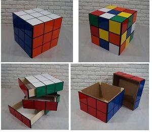 RUBIKS CUBE 50cm 20 storage unit BOX cabinet drawers TOYS