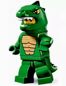 NEW LEGO Collectible Minifigure Sealed SERIES 5 8805 Lizard Man Godzilla CMF