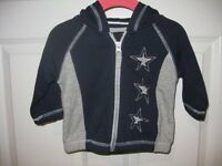 Hanna Andersson Baby Keep Me Cozy Zip Hoodie Size 60 (2-6 Months)