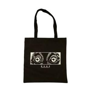 Genuine WKND Test Tube Recycled Tote Bag - Black (Extra Large)