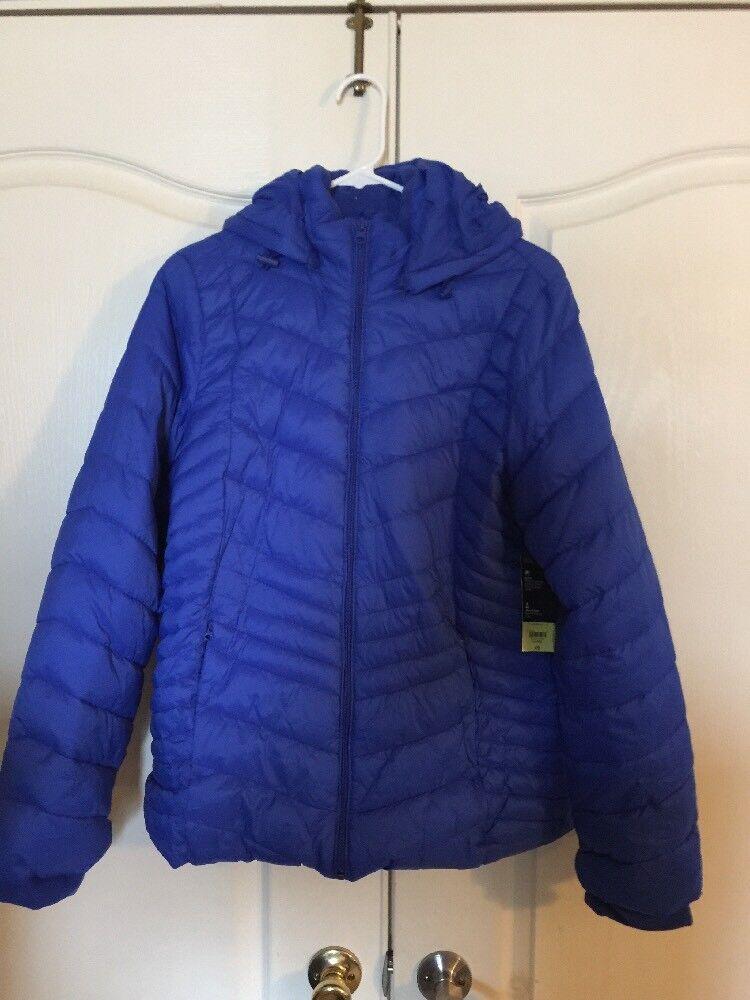 Womens Xersion Coat Xl bluee