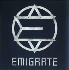 Emigrate - Richard Z. Kruspe (Rammstein) Promoaufkleber / Sticker - Sammlerstück