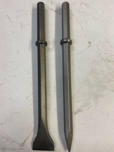 Points Chisels Wides suit Wacker BH24 Breaker Demolition Hammer 28mm Hex