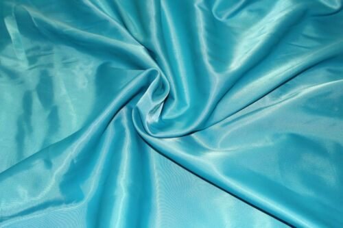 "bridal £5.99//m 1.50m//60/"" wide Quality Dull stretch satin crepe fabric for prom"