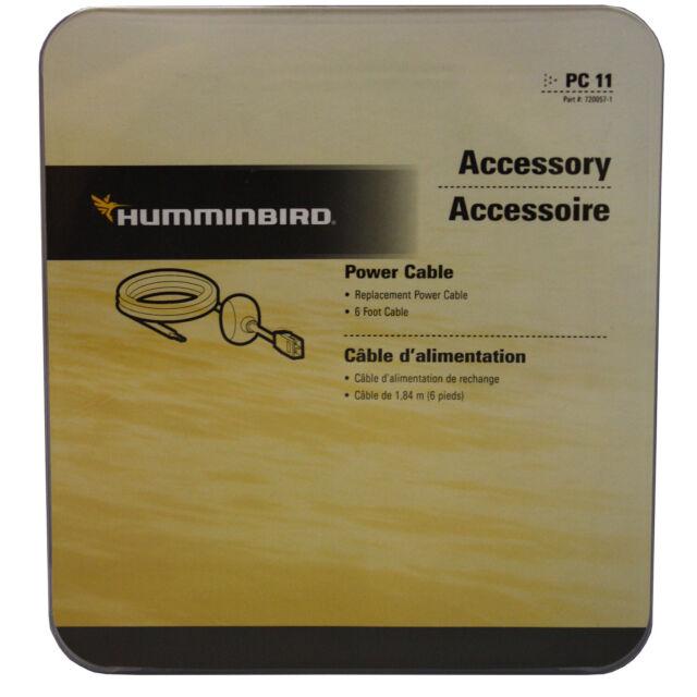 Humminbird Cordon d/'alimentation PC11 PC-11 720057-1