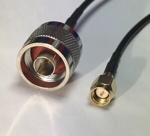N Type Male to SMA Male Pick Your Length RG58 Coaxial Pigtail Cable USA