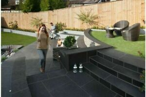 MARSHALLS SYMPHONY PORCELAIN PAVING 16.16M2 PROJECT PACK DARK