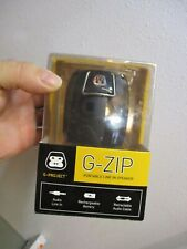 G-Project G-Zip Portable 3.5mm Aux Wired Travel Speaker 3W w//Clear Bass .. New