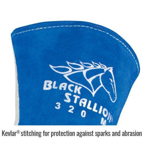 Revco Black Stallion Stick Welding Glove 320 Premium Side Split Cowhide Large