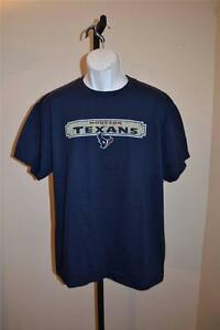 NEW-Houston-Texans-MENS-LARGE-L-Navy-T-Shirt-by-NFL-Team-Apparel-34Si