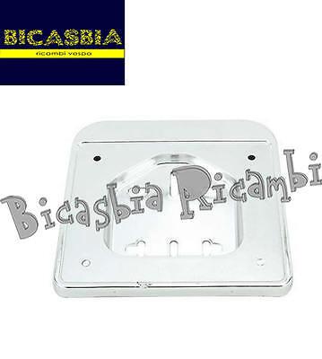 2090 - PORTA TARGA CROMATO PLASTICA VESPA 50 4T LX ET4 SPRINT PRIMAVERA S