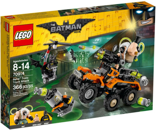 LEGO Batman Movie 70914 Der Gifttruck von Bane Toxic Truck Attack Neu /& OVP
