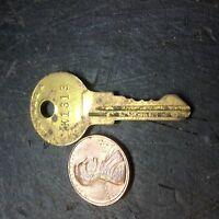 Kennedy Tool Box Lock Key K 1313 Shop Machine Machinist Chest Bridgeport
