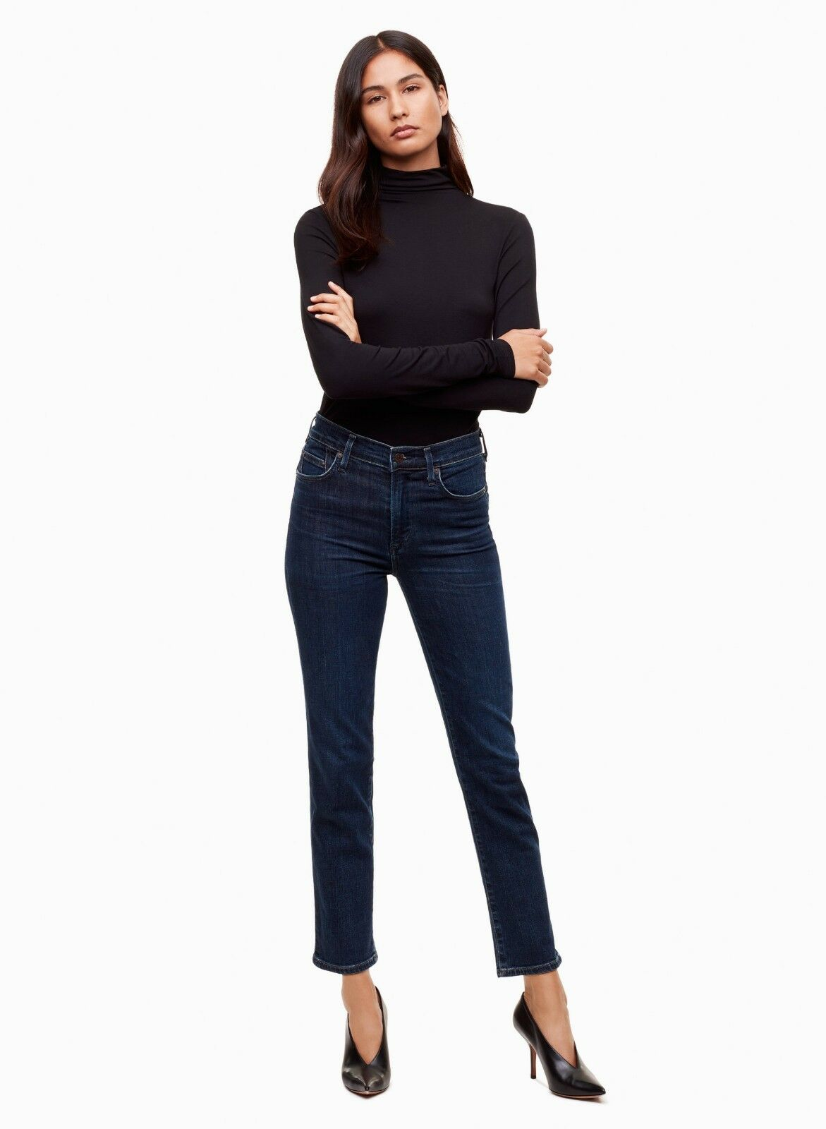 Citizens of Humanity Cara High Rise Cigarette Ankle Skinny Jean – Marisol - 25