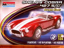 Revell Monogram 1:24 Shelby Cobra 427 S/C Car Model Kit