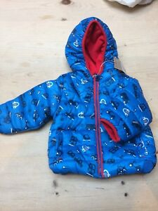 3b1ae9bbfda3 Mothercare 9-12 Month Coat. Shower Resistance And Fleece Lined BNWT ...