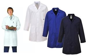 Portwest-carnicero-Catering-Baker-higiene-medico-dentista-Veterinario-laboratorio-de-Abrigo-Chaqueta
