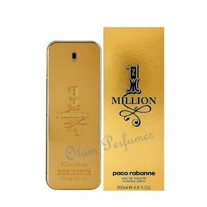 Paco-Rabanne-1-Million-Men-EDT-Spray-6-7oz-200ml-New-in-Box-Sealed-Original