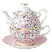 Royal Albert Rose Confetti Tea For One Set
