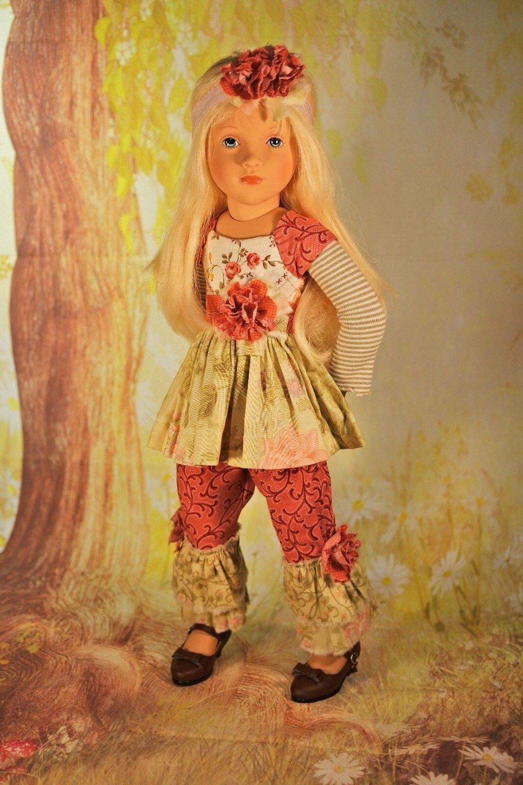 Bohemian Girl PDF Dress Pattern Fits Petitcollin Starlette Sylvia Natterer Gotz