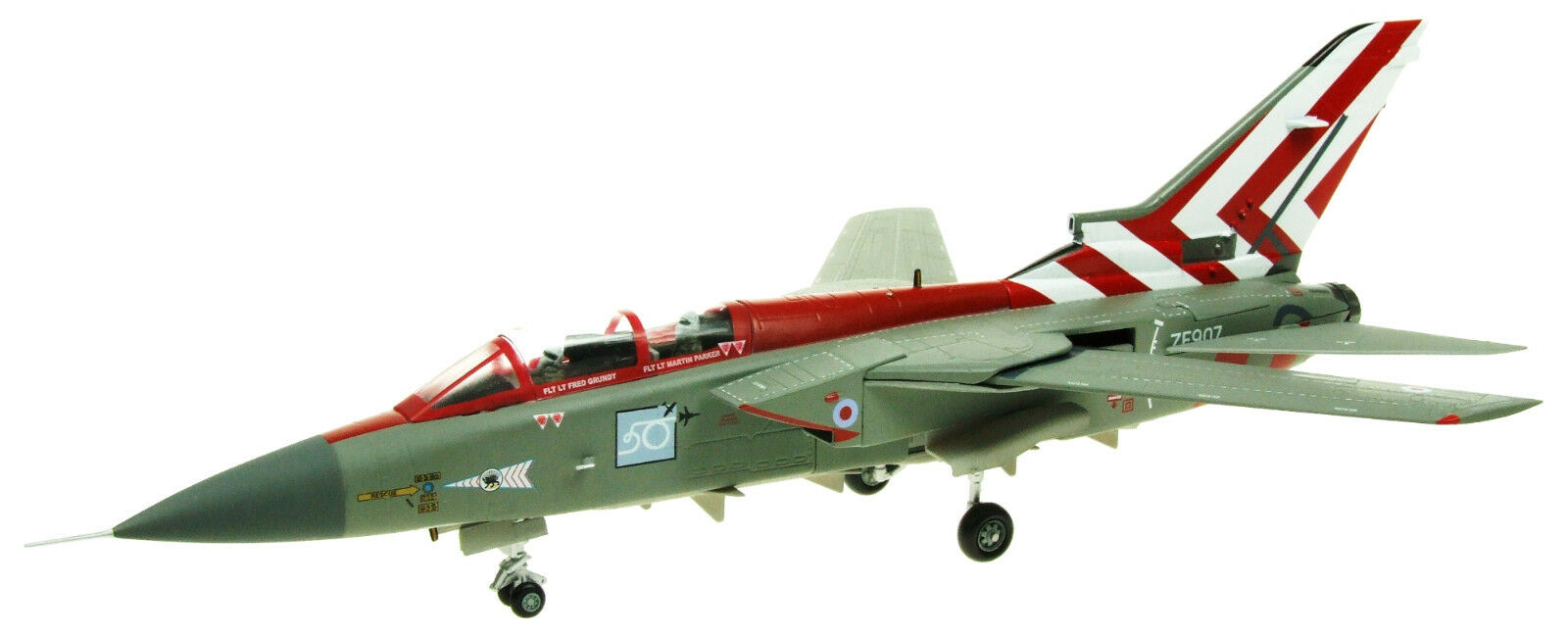 AV7251001 1 72 Panavia Tornado F3 ZE907 65 SQD. Raf coningsby Display AEREI