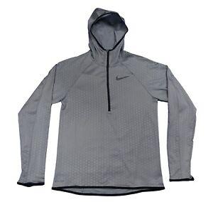 88413c00ca1d Nike DRY Training Hoodie Dri-Fit Gym Gumsmoke Hoody 886746 Large