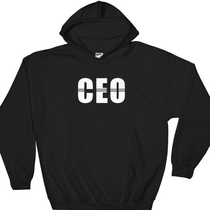 CEO Hoodie Sweatshirt Startup Geschäft Owner Shirts - Cool Gift for Boss Manager