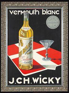 1892 Monastine French Liquor Vintage Style Advertising Poster 24x36